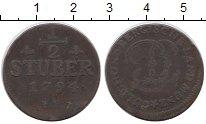 Изображение Монеты Германия Юлих-Берг 1/2 стюбера 1794 Медь XF-