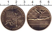 Изображение Монеты США 1/2 доллара 1992 Медно-никель UNC-