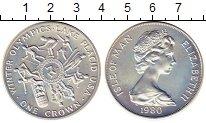 Изображение Монеты Остров Мэн 1 крона 1980 Серебро UNC-