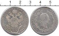 Изображение Монеты Австрия 20 крейцеров 1830 Серебро XF-