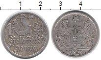 Изображение Монеты Данциг 1 гульден 1923 Серебро XF