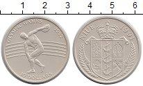 Изображение Монеты Ниуэ 10 долларов 1991 Серебро UNC- Олимпиада,метание ди