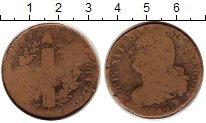 Изображение Монеты Франция 1 соль 1792 Медь VF