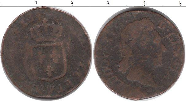 Картинка Монеты Франция 1/2 соля Медь 0