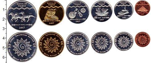 Изображение Наборы монет Резервация Хамул Индейцы Хамул Индейцы 2017 2017  UNC
