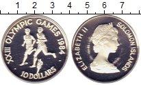 Изображение Монеты Соломоновы острова 10 долларов 1984 Серебро Proof