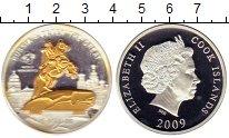 Изображение Монеты Острова Кука 10 долларов 2009 Серебро Proof- Памятник Петру 1,Мед