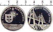 Изображение Монеты Португалия 500 эскудо 1998 Серебро Proof