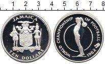 Изображение Монеты Ямайка 10 долларов 1982 Серебро Proof