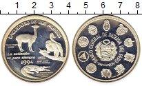 Изображение Монеты Перу 1 соль 1994 Серебро Proof- Иберо-Америка. 500-л