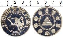 Изображение Монеты Никарагуа 5 кордоба 1994 Серебро Proof-