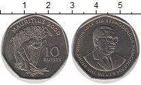 Изображение Мелочь Маврикий 10 рупий 2000 Медно-никель UNC- Сэр Сивусагур Рамгул