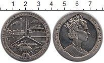 Изображение Монеты Остров Мэн 1 крона 1989 Медно-никель UNC- Королевский визит
