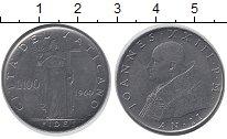 Изображение Монеты Ватикан 100 лир 1960 Сталь UNC-