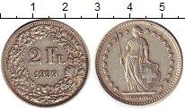Изображение Монеты Швейцария 2 франка 1939 Серебро XF
