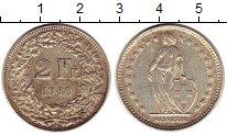 Изображение Монеты Швейцария 2 франка 1940 Серебро XF