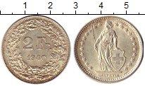 Изображение Монеты Швейцария 2 франка 1940 Серебро XF+