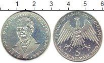 Изображение Монеты ФРГ 5 марок 1968 Серебро UNC- 150-летие со дня рож