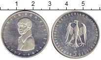 Изображение Монеты ФРГ 5 марок 1977 Серебро UNC- 200 лет со дня рожде