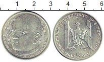 Изображение Монеты ФРГ 5 марок 1978 Серебро UNC- 100-летие со дня рож