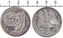 Изображение Монеты Германия ФРГ 10 марок 1987 Серебро UNC-