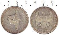 Изображение Монеты ФРГ 10 марок 1994 Серебро UNC-