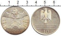 Изображение Монеты ФРГ 10 марок 1998 Серебро UNC- 300-летие благотвори