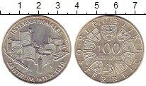 Изображение Монеты Австрия 100 шиллингов 1979 Серебро UNC-