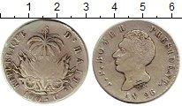 Изображение Монеты Гаити 100 сентим 1829 Серебро XF- Президент  Бойер