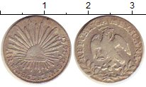Изображение Монеты Мексика 1 реал 1863 Серебро XF
