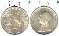 Изображение Монеты Италия 500 лир 1974 Серебро UNC- 100-летие со дня рож