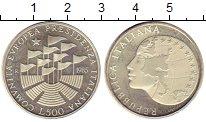 Изображение Монеты Италия 500 лир 1985 Серебро UNC- Президенство Италии