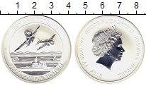 Изображение Монеты Тувалу 1 доллар 2016 Серебро Proof- Перл Харбор