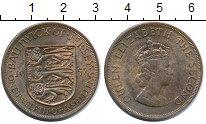Изображение Монеты Остров Джерси 1/12 шиллинга 1957 Бронза XF+