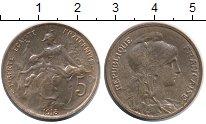 Изображение Монеты Франция 5 сентим 1913 Бронза UNC-