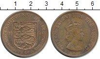 Изображение Монеты Остров Джерси 1/12 шиллинга 1966 Бронза UNC- 900 лет Норманским з