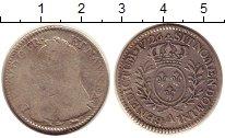 Изображение Монеты Франция 1/5 экю 1726 Серебро VF Людовик XV