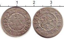 Изображение Монеты Германия Пфальц-Сульбах 2 крейцера 1737 Серебро XF-
