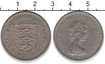 Изображение Монеты Остров Джерси 10 пенсов 1968 Медно-никель XF