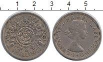 Изображение Монеты Великобритания 2 шиллинга 1964 Медно-никель XF Елизавета II