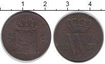 Изображение Монеты Нидерланды 1 цент 1876 Бронза VF