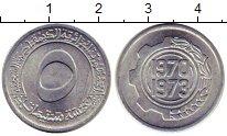 Изображение Монеты Алжир 5 сантим 1970 Алюминий UNC- ФАО