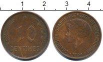 Изображение Монеты Люксембург 10 сантим 1930 Бронза XF Шарлотта