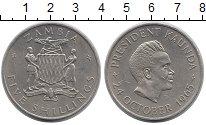 Изображение Монеты Замбия 5 шиллингов 1965 Медно-никель UNC-