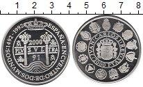 Изображение Монеты Испания 2000 песет 2000 Серебро Proof-