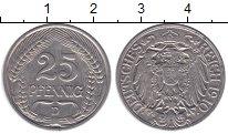Изображение Монеты Германия 25 пфеннигов 1910 Медно-никель XF