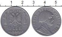 Изображение Монеты Албания 1 лек 1939 Медно-никель XF