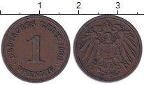Изображение Монеты Германия 1 пфенниг 1900 Медь XF