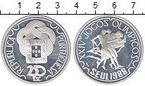 Изображение Монеты Португалия 250 эскудо 1988 Серебро Proof-