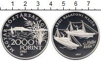 Изображение Монеты Венгрия 2000 форинтов 1997 Серебро Proof